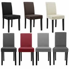 möbel 2er set stühle weiß hochlehner esszimmer kunst leder