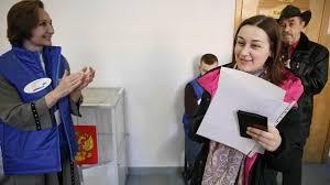 ouverture des bureaux de vote election présidentielle russe ouverture des bureaux de vote