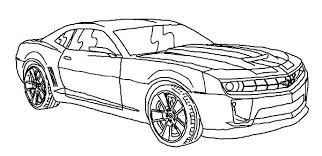 Transformers 4 Coloring Sheets Bumblebee Pages Car Pictures Canyon