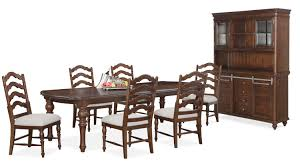 kitchen table rectangular value city furniture tables wood
