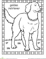 Dog Breed Coloring Pages 7 Color And Learn