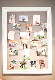 A DIY Picture Frame Is Great Upcycling Project That Makes Gift Wall Of Pictures IdeasDorm Room PicturesDisplay PicturesCollage