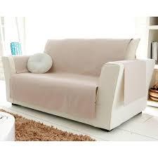 fauteuil canape protège fauteuil et canapé universels becquet beige becquet