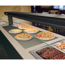 hatco built in rectangular heated food display shelves