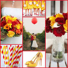37 best Red & Yellow Wedding Ideas images on Pinterest