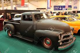 ESSEN - NOV 29: Custom Build US Chevy Pickup Truck From The 1950s ...