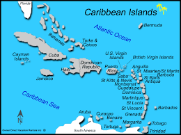 Caribbean Islands Map Picture