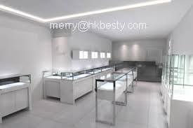 Jewelry Display Showcases Wall Cases