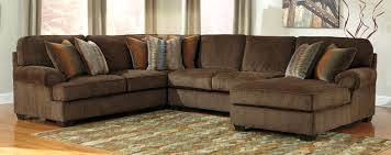 Surprising Ashley Furniture Brown Sectional Leather Sofa Picture