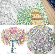 Hot English Secret Garden Coloring Books 25251CM 96 Pages Free Shipping With High Quality In From Office School Supplies On Aliexpress