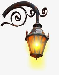 Metal Wall Lamp Illumination PNG Image