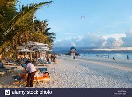 100 Playa Blanca Asia Filipinas Boracay Island Los Turistas De Vacaciones