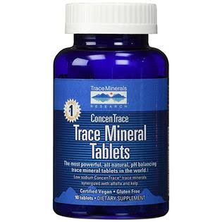 Trace Minerals Research - ConcenTrace Trace Mineral Tablets - 90