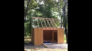 12x16 Shed Kit With Floor by Diy Shed Project 12x16 Youtube
