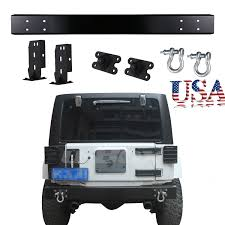 New Stytle 75th Willys MB Salute Edition Rear Bumper For Jeep ...