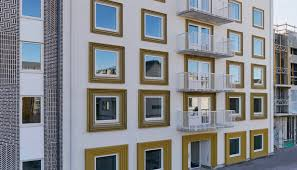 100 Apartments In Gothenburg Sweden These Solarpowered Apartments In Generate More Energy Than