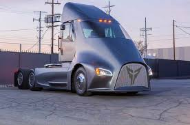 Thor Trucks, A New Electric Semi-Truck Challenger, Enters The Ring ...