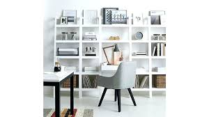 Leaning Shelves With Desk Full Size Of Large