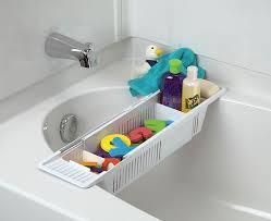 amazon com kidco bath toy organizer storage basket white