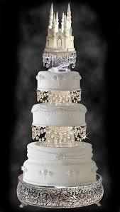 I Want This Cake For My Fairytale Dream WeddingGorgeous Wedding With Swarovski Crystal Cinderella Castle Royal Topper