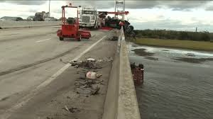 100 Two Men And A Truck Jacksonville Fl Dangling Semi Removed After Chainreaction Crash On Dames
