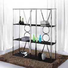 Derby Preferably Stainless Steel Decorative Glass Ornaments Rack Shelf Bookcase Display Collectibles