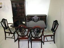 1940s Dining Room Set Mahogany Furniture For Sale