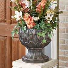 Home Decorators Free Shipping Code 2015 by Tuscan Artichoke Indoor Outdoor Planter