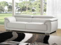 la maison du canapé canapés 3 places cuirs design