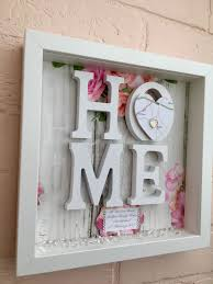 Personalised House Warming Gift New Home Frame Map Our First Sweet
