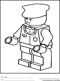 Free Police Coloring Pages