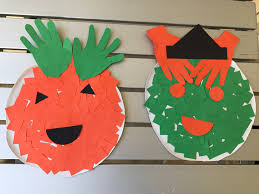 Pumpkin And Witch Paper Plate Halloween Craft