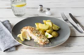 Salmon Is A Great Robust Fish With Good Flavour So These Fillets Can Handle The Decked Out Crust Weve Given Them Crispy Panko Breadcumbs Freshly Grated