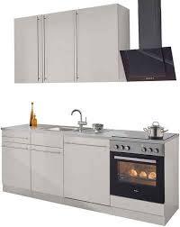 wiho küchen küchenzeile chicago ohne e geräte breite 220 cm