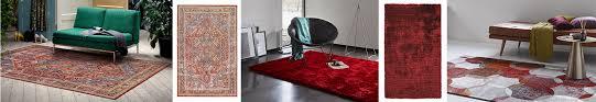 teppiche in rot günstig bei uns kaufen outlet teppiche