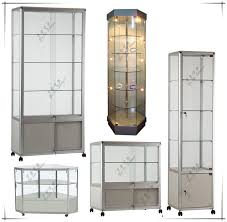 Modern Design Showcase Wood Furniture Display Mall Kiosk For Jewelry