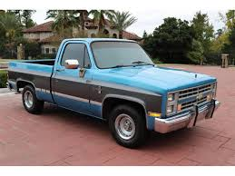 100 C10 Truck For Sale 1987 Chevrolet For ClassicCarscom CC1159057