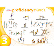 Level 3 Gymnastics Floor Routine by Core Proficiency Wall Charts Gymshop