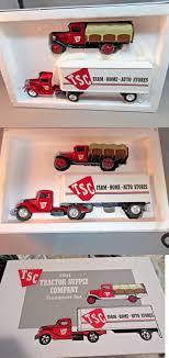 100 Ertl Trucks Vehicle Banks 43845 Nib Tsc Tractor Supply Company 1991 Die