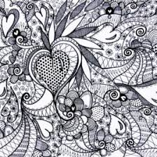 Colouring Pages For Kids Printable 1000 Images About Colour Art Therapy Hearts And Love On