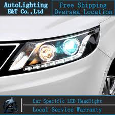car styling for kia k2 headlights led headlight automobile