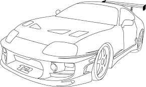 Fast And Furious Coloring Pages 02