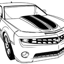 Transformer Bumblebee Car Coloring Pages Cartoon Download For
