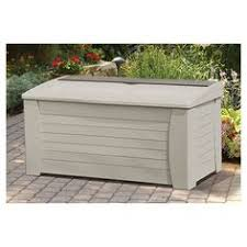 rubbermaid 5e39 extra large deck box with seat 071691237969 deck
