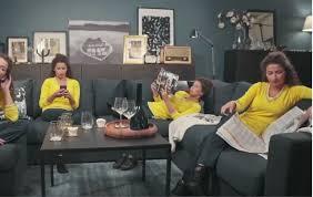 mehr leben im wohnzimmer mit ikea sofas in u form ikea