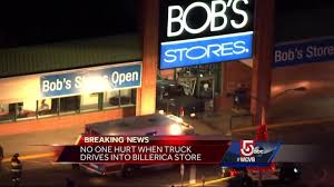 100 Truck Stores No One Hurt When Truck Drives Into Bobs