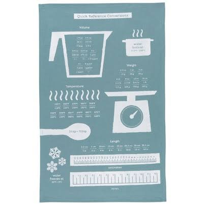Now Designs Dish Towel Cooks Guide Dish Towel One-Size
