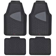 Motor Trend Odorless Heavy Duty 4-piece All-weather Rubber Car Floor ... Us 4pcs Car Truck Suv Van Custom Pvc Rubber Floor Mats Carpet Front Amazing Wallpapers Hot Sale Uxcell Peeva Foam Plastic Suv Trunk Cargo Oxgord Diamond Rugged 3piece Allweather Automotive Buy Plasticolor 0054r01 2nd Row Footwell Coverage Black 000666r01 1st With Graphics Top 10 Best Liners 2017 Review Rated Metallic Red For Trim To Fit 4 Pilot Piece Tan Mat Set Queen Weathertech Allweather Mobile Living And