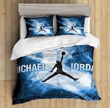 100 Michael Jordan Bedroom Set 3D Custom Bedding Duvet Cover