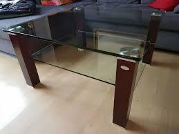wohnzimmer couchtisch glas der fa